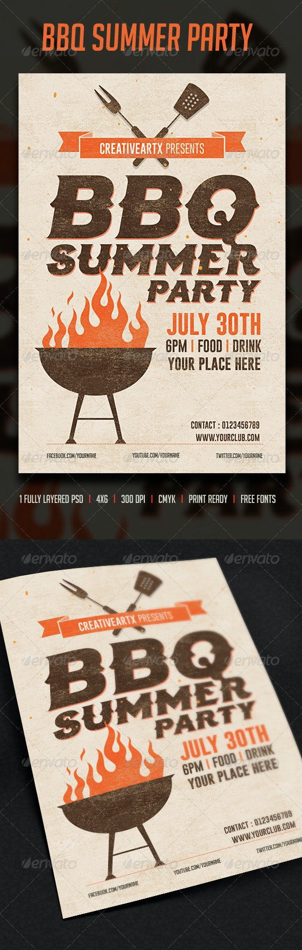 BBQ Summer Party - Clubs & Parties Events