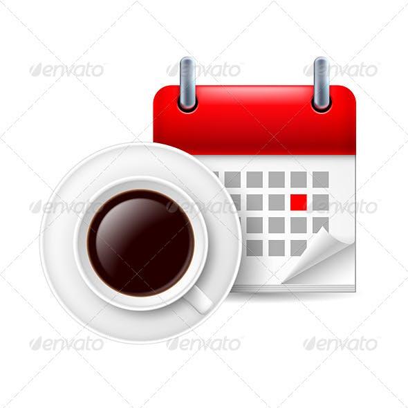 Coffee and Calendar