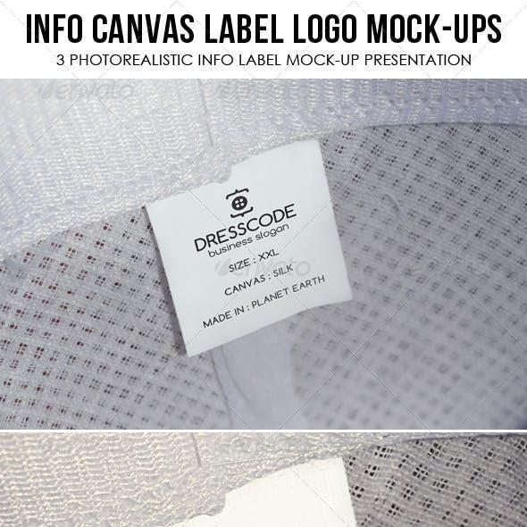 Apparel Tag / Label Logo Mock Ups