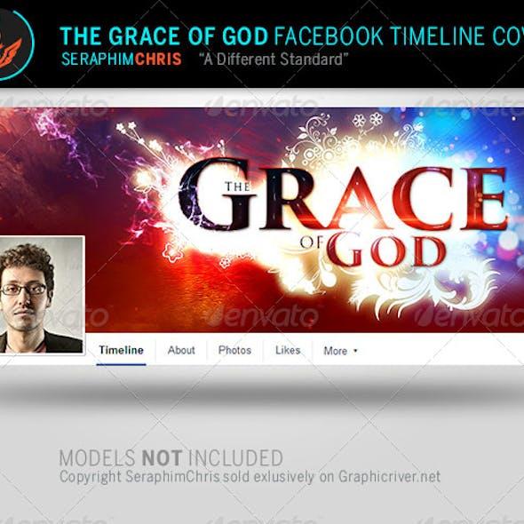 Grace of God: Church Facebook Timeline Template