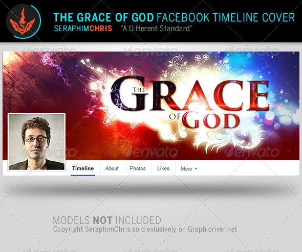 Grace of God: Church Facebook Timeline Template - Facebook Timeline Covers Social Media
