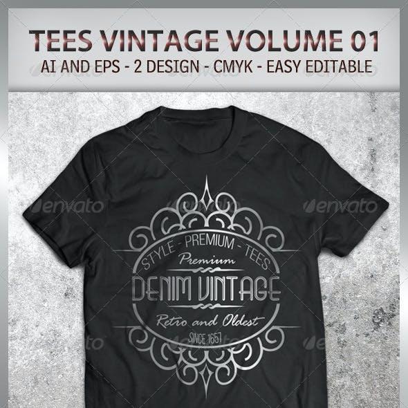 Tees Vintage Volume 01