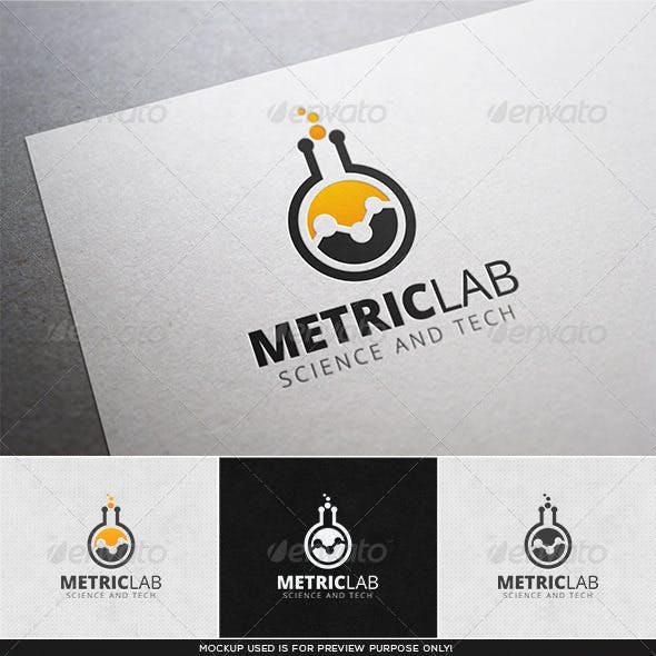 Metric Lab Logo Template