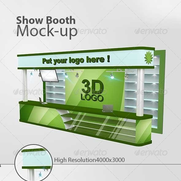 Show Booth Mock-up
