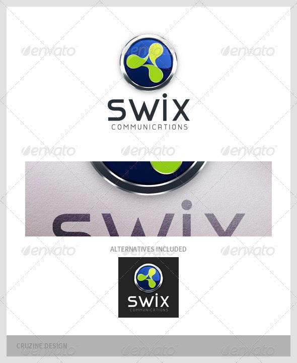 Communication Logo - 002 - Symbols Logo Templates
