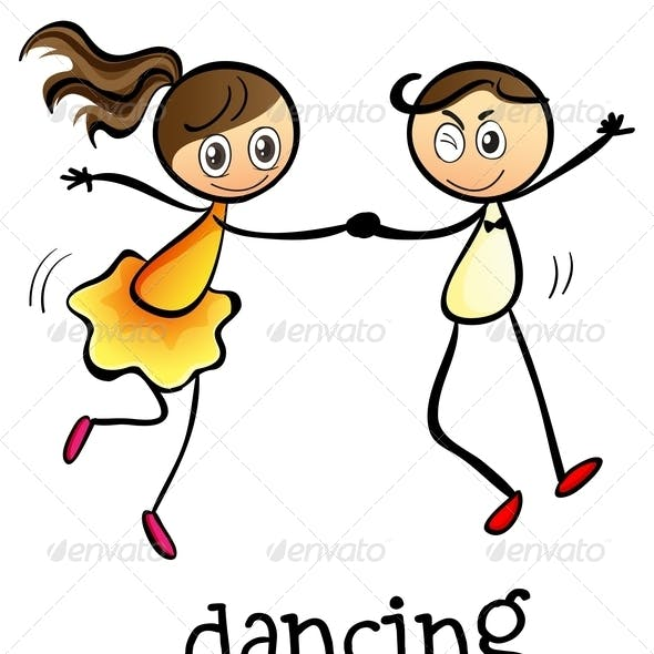 A Girl and a Boy Dancing
