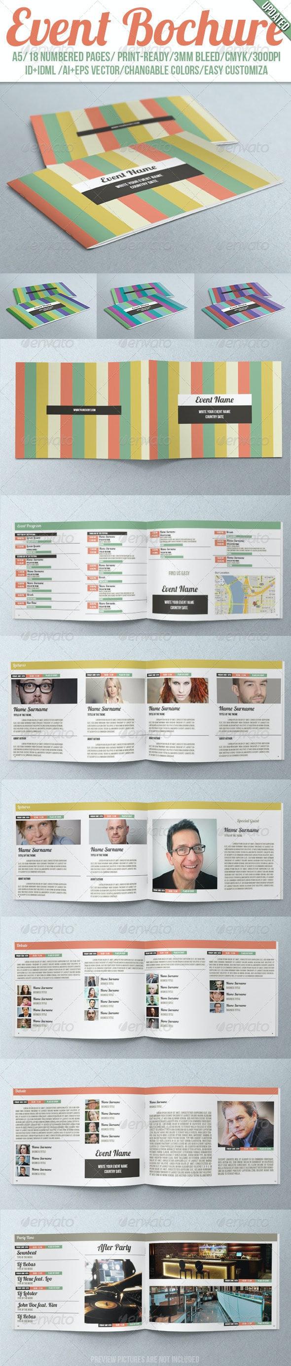 Event Brochure - Corporate Brochures
