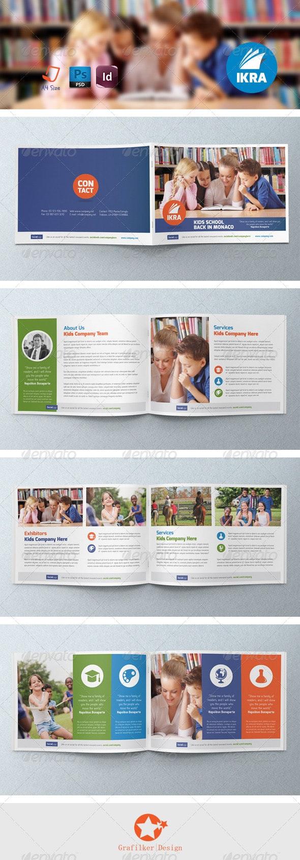 School Book Brochure Templates - Brochures Print Templates
