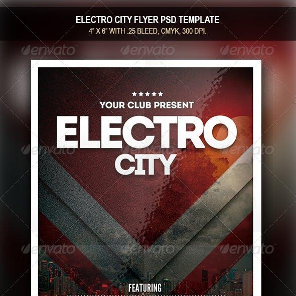 Electro City Flyer