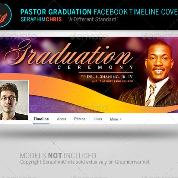 Pastor Graduation Facebook Timeline Cover Template