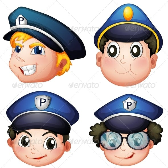 Four Police Heads