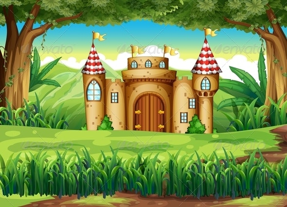 Castle in the Forest - Buildings Objects