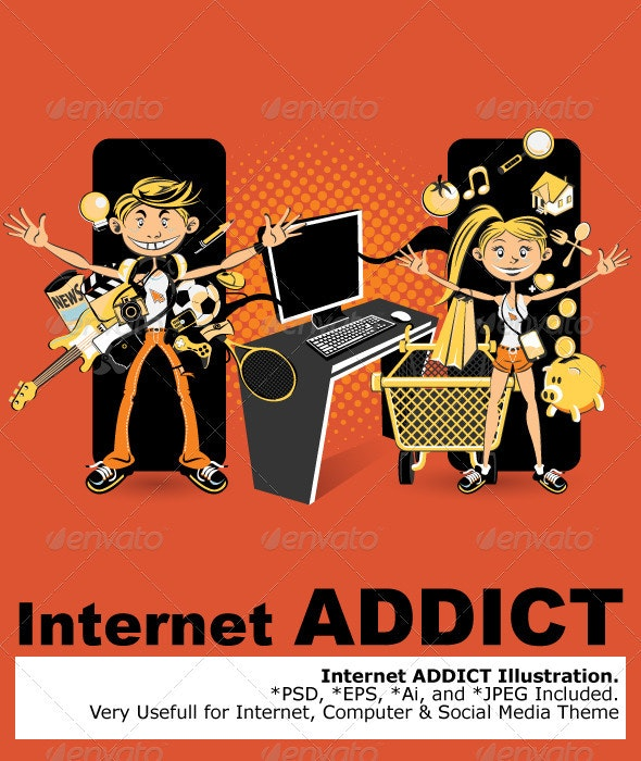 Internet Addict - Web Technology