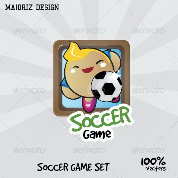Soccer Game Set UI