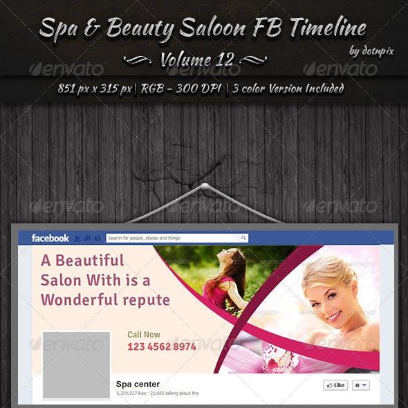 Spa & Beauty Saloon FB Timeline   Volume 12