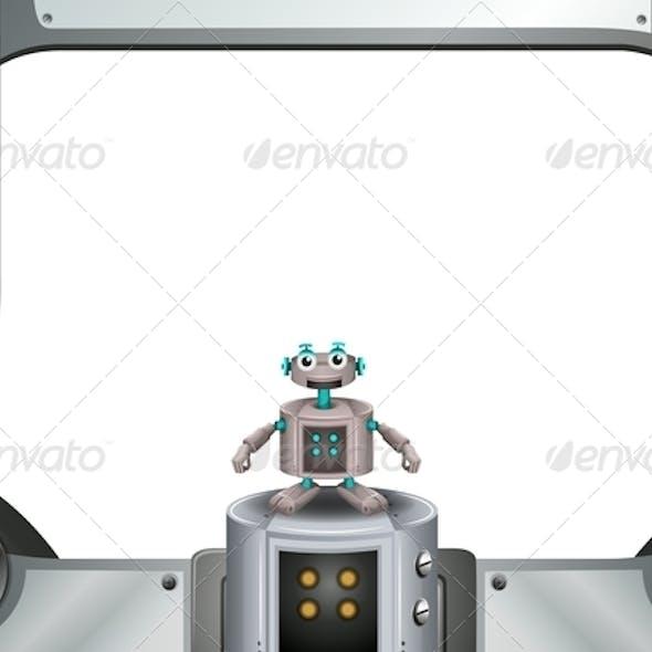 Robot with Metallic Frame