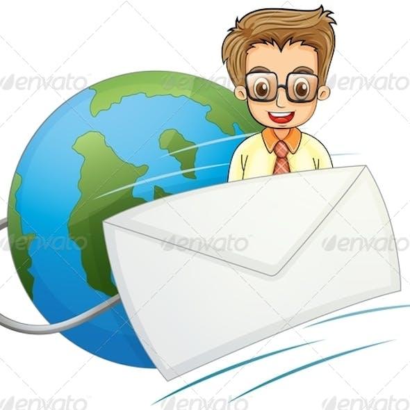 Businessman Envelope
