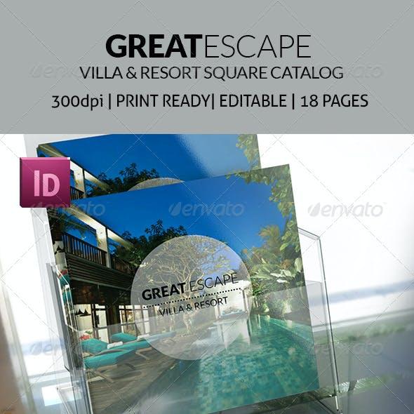 Great Escape - Villas and Resort Square Catalog