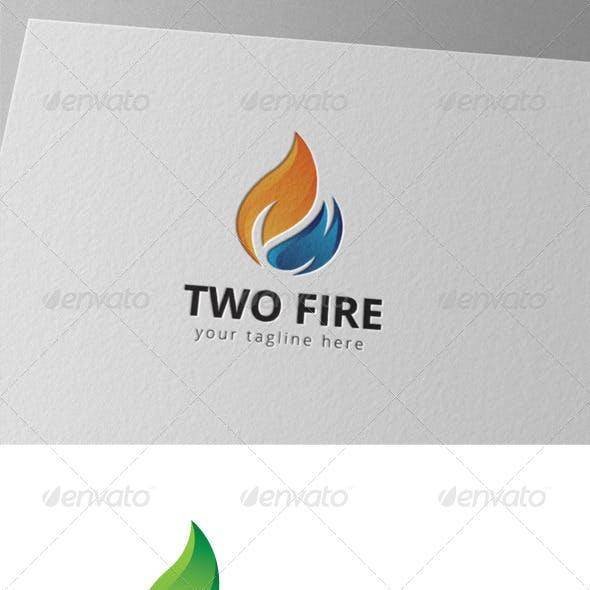 Two Fire Logo