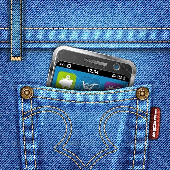 Jeans Texture - Communications Technology