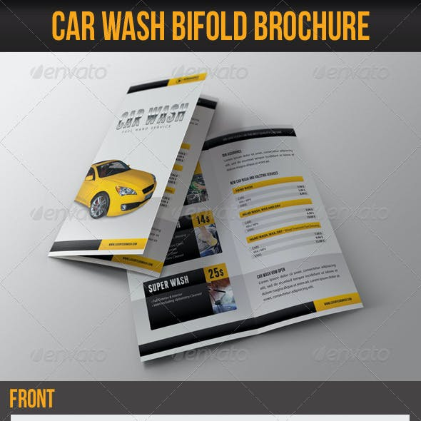 Car Wash Bifold Brochure 01