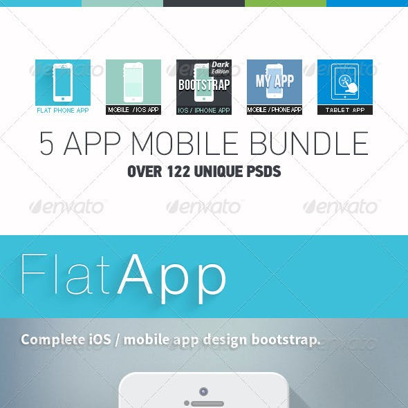 5 Apps Mobile Bundle - Phone & Tablet Apps