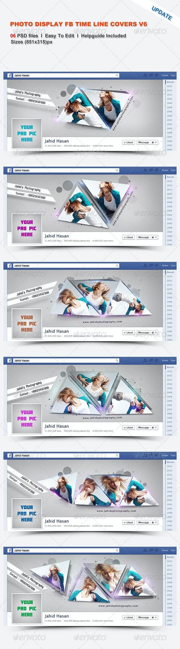 Photo Display FB Timeline Covers V6 - Facebook Timeline Covers Social Media