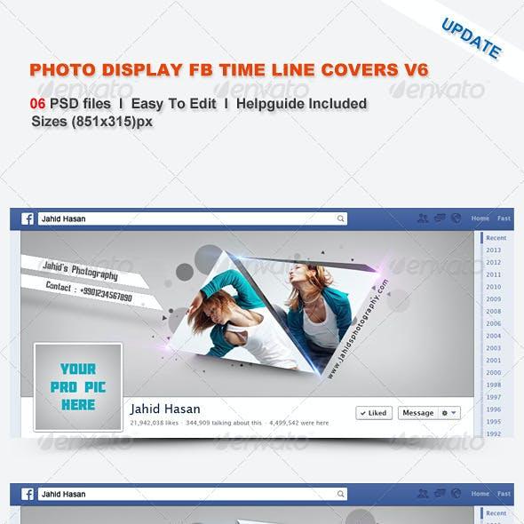 Photo Display FB Timeline Covers V6