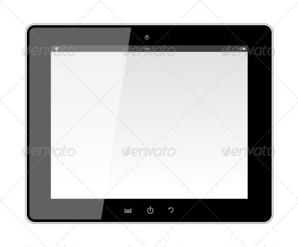 Tablet with Blank Screen - Computers Technology
