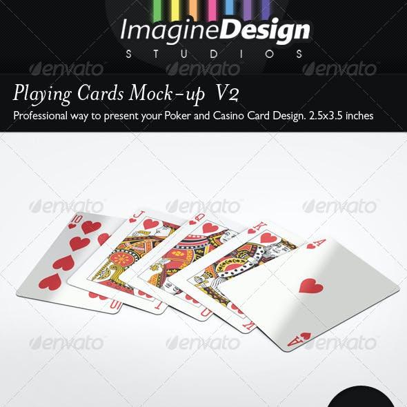Playing Cards Mock-up  V2