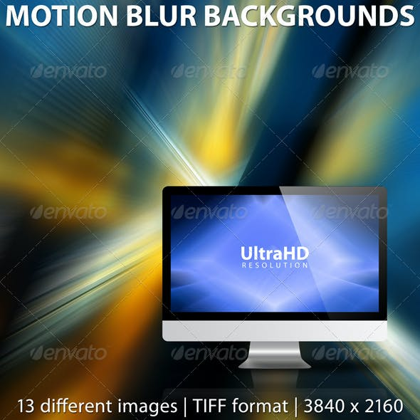 Abstract Motion Blur Backgrounds