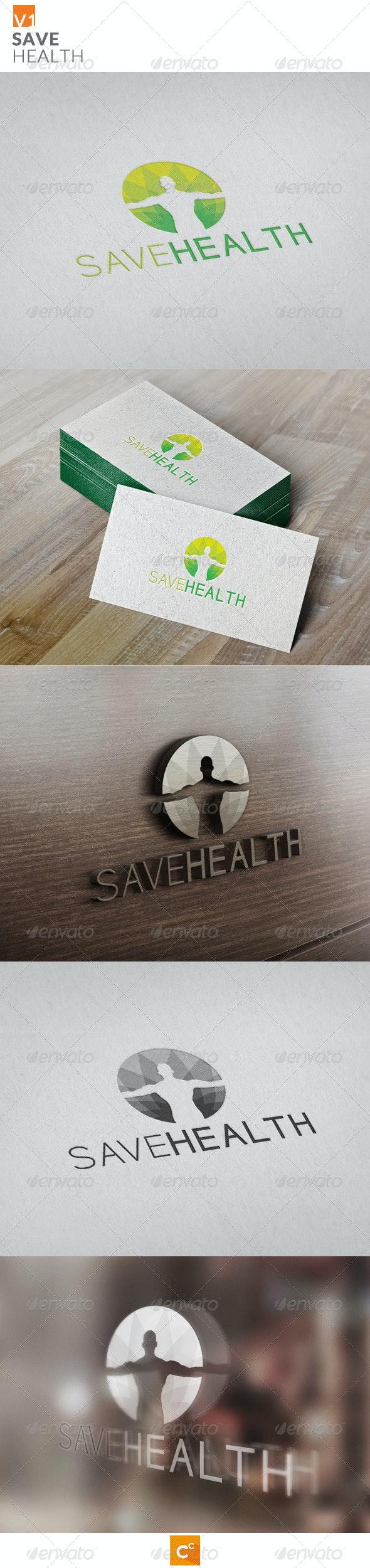 Save Health - Symbols Logo Templates
