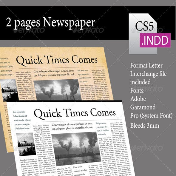 2 Pages Newsletter