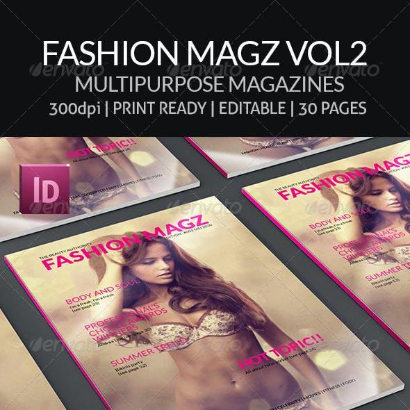 Fashion Magz Vol2 - Multipurpose  Magazines Template