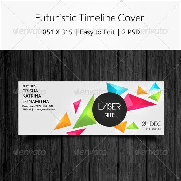 Futuristic Timeline Cover