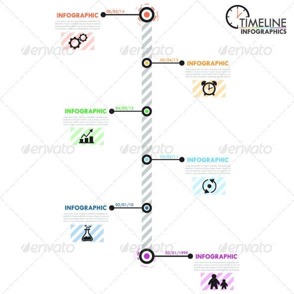Minimal Infographic Timeline (2 Versions)