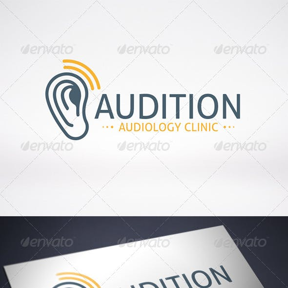 Ear Logo Template
