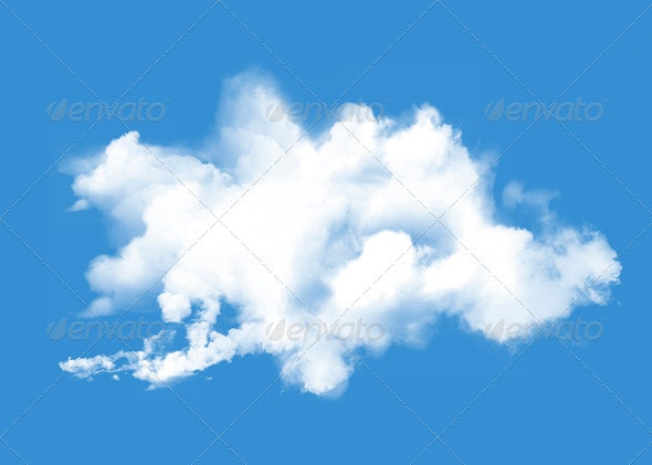 Cloud Formation - Nature & Animals Isolated Objects