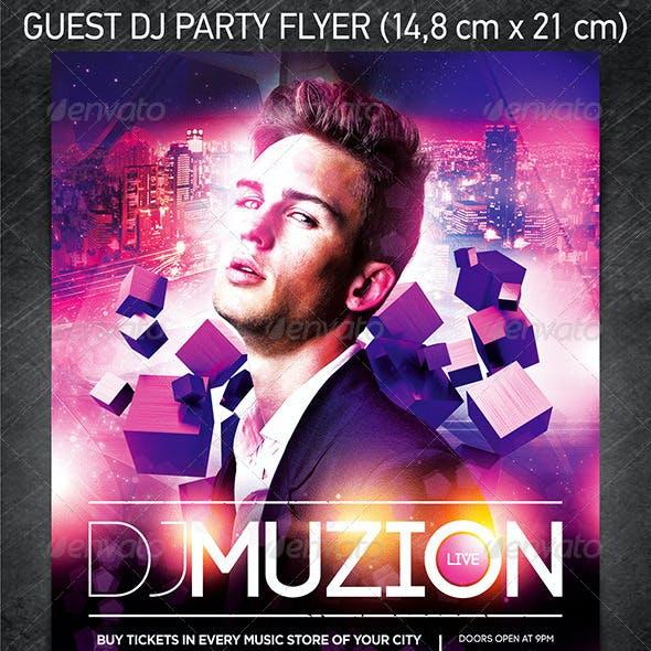 Guest DJ Party Flyer Vol.4