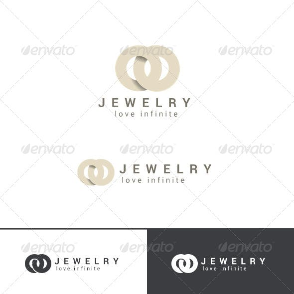 Fashion Jewelry Logo Abstract
