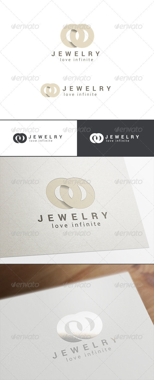 Fashion Jewelry Logo Abstract - Abstract Logo Templates