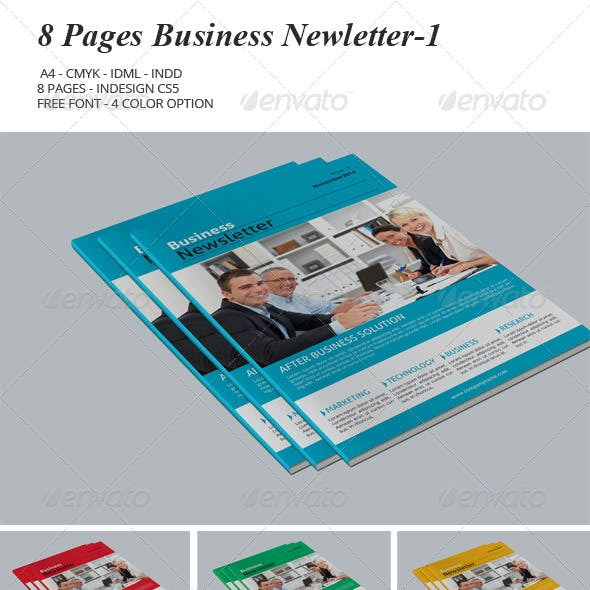 8 Pages Business Newsletter-1