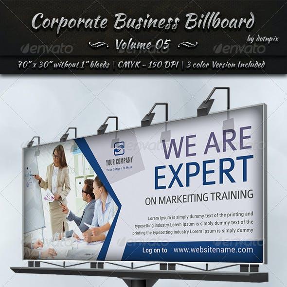 Corporate Business Billboard   Volume 5