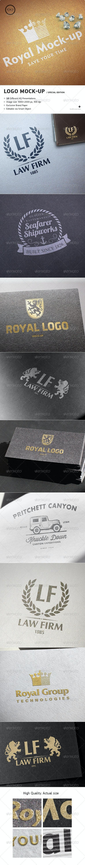 Logo Mock-Up / Special Edition - Logo Product Mock-Ups