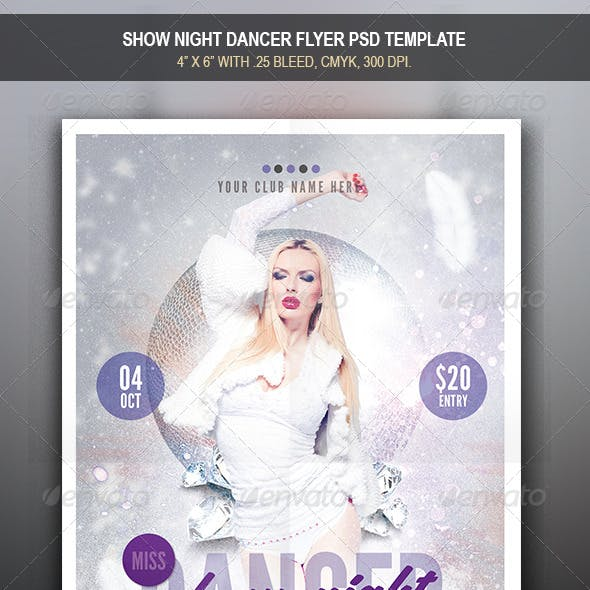 Miss Dance Flyer