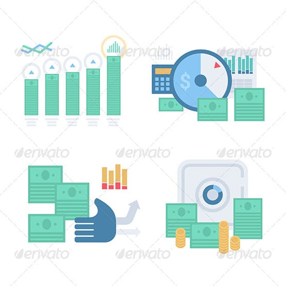 Money and Finance Concept