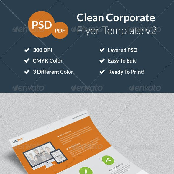 Clean Corporate Flyer v2