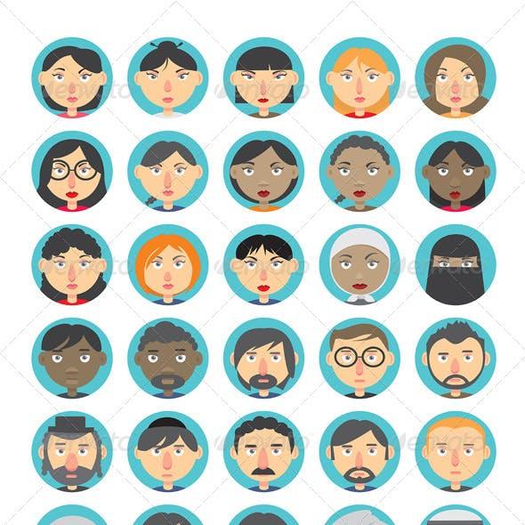 People Avatar Set
