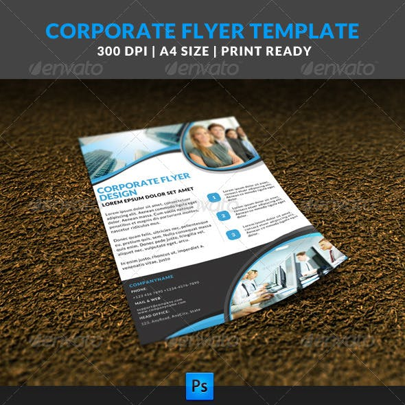 Corporate Business Multipurpose Flyer Template 5