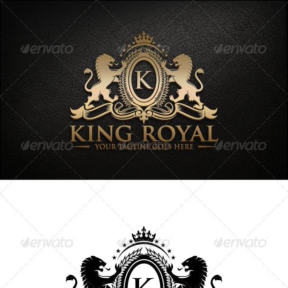 King Royal Logo Template